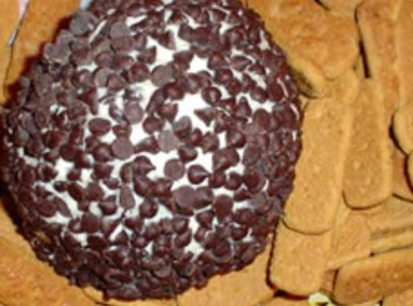 Chocolate Chip Cheeseball Recipe