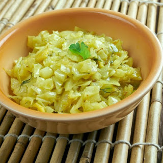 Bengali Cabbage Curry.