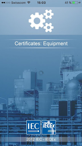 IECEx Equipment Certificates