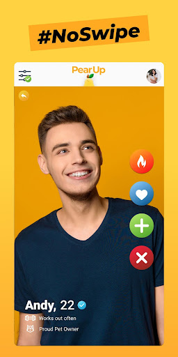PearUp - Chat & Dating App 3.1.3 screenshots 2