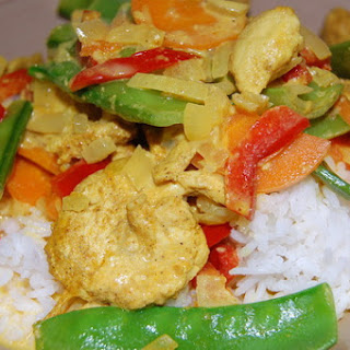 Easy Chicken Curry with Vegetables Recipe