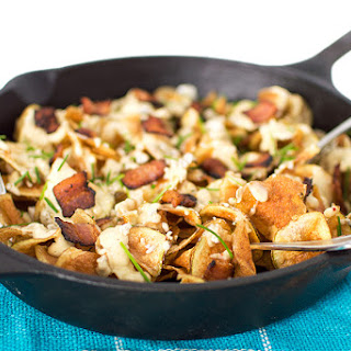 Bacon Gorgonzola Cheese Chips