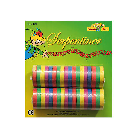 Serpentiner, multi 2 st