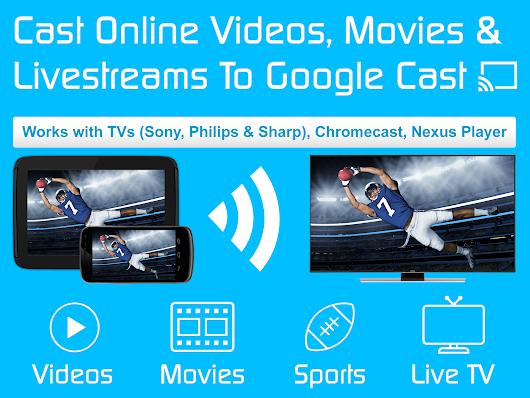 Video & TV Cast | Google Cast: Android TV Streamer - Apps