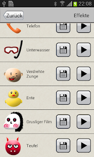 Stimmenwechsler Screenshot