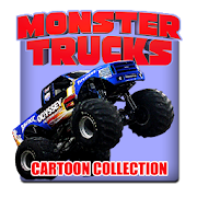 Monster Trucks For Kids cartoon collection