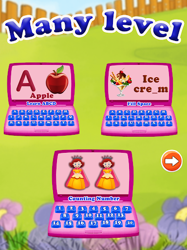 Kids Computer: Number & Alphabet Learning Activity 1.1 screenshots 2