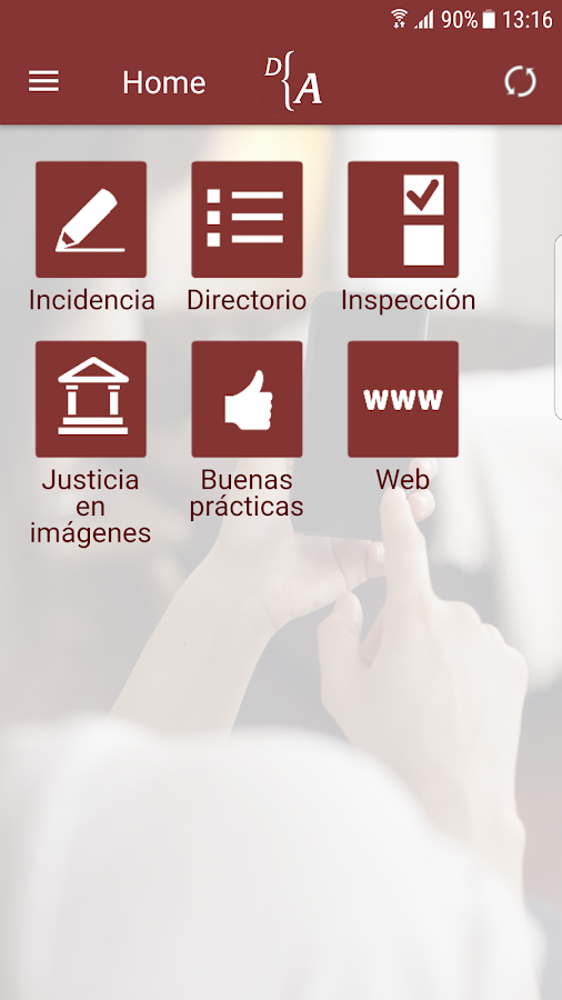 Abogados de Madrid- screenshot