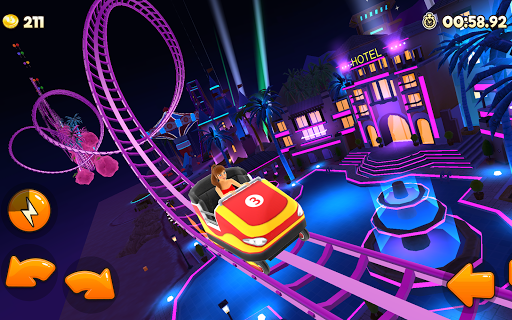 Thrill Rush Theme Park apkslow screenshots 7