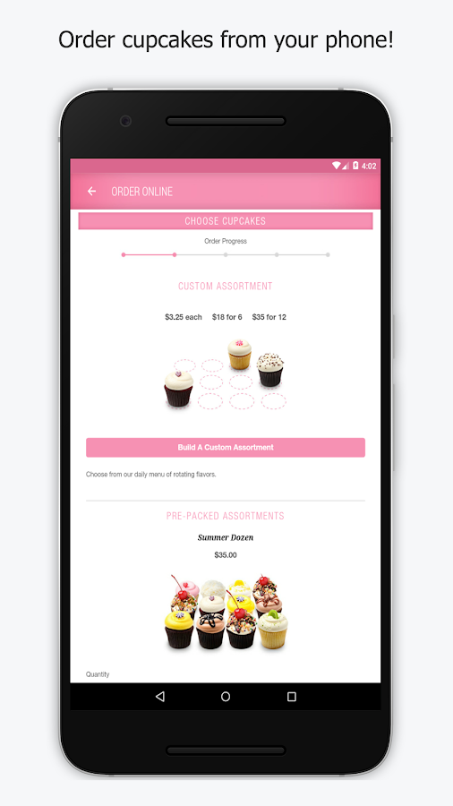 Georgetown Cupcake- screenshot