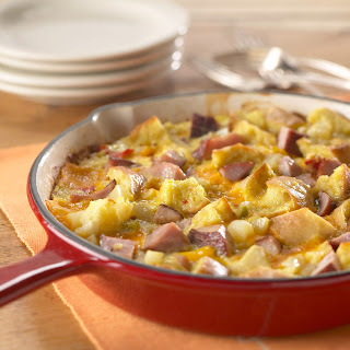 Anytime Ham and Cheese Frittata.