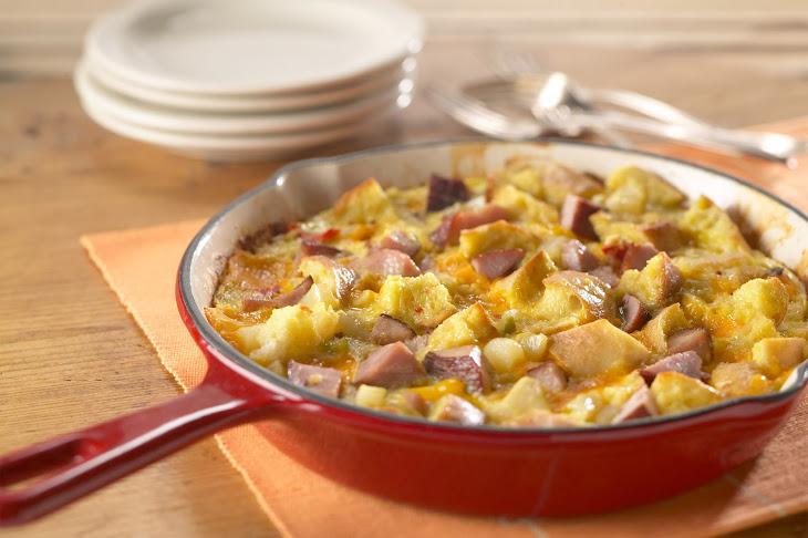 Anytime Ham and Cheese Frittata Recipe