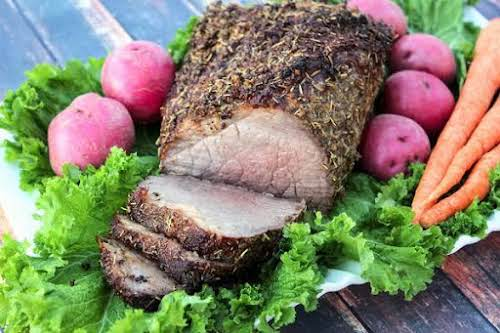 """Round Roast Beef Bottom Perfection""""Perfect """"Sunday Dinner"""" with mashed potatoes & pan..."""