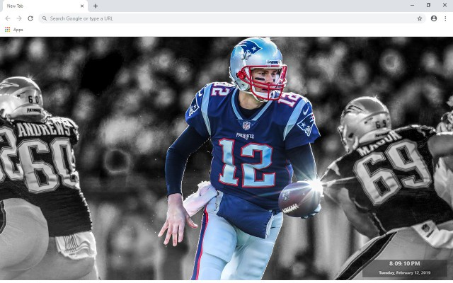 Tom Brady New Tab & Wallpapers Collection