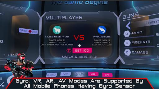 VR AR Dimension - Robot War Galaxy Shooter screenshots 9