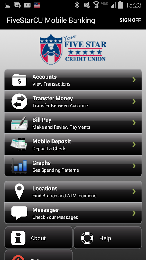 Five Star Credit Union - screenshot