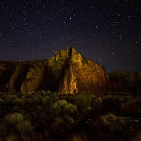 by Sandra Woods - Landscapes Starscapes ( oregon, state park, star, smith rock,  )