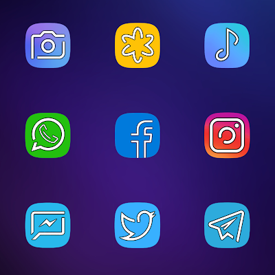 S9 UX HD ICON PACK- screenshot