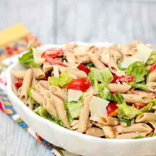 Caesar Pasta Salad with Chicken.