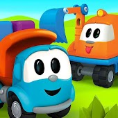 Leo the Truck and cars: Smart toys for kids