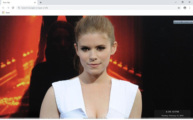 Kate Mara New Tab & Wallpapers Collection