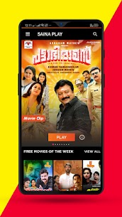 Saina Play – Malayalam Movies App Download For Android and iPhone 2