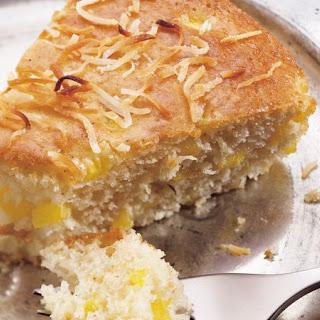 Skinny Coconut Coffee Cake Recipe
