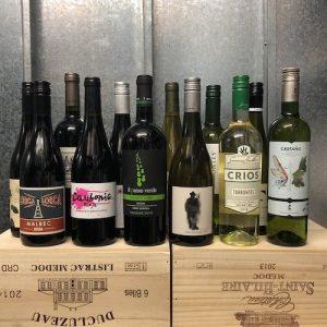 Vegan wine box