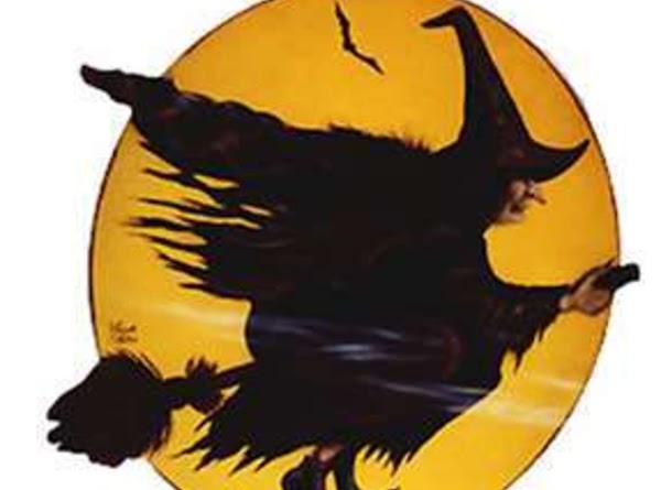 The broomstick has come to be the traditional companion to the witch, and the...
