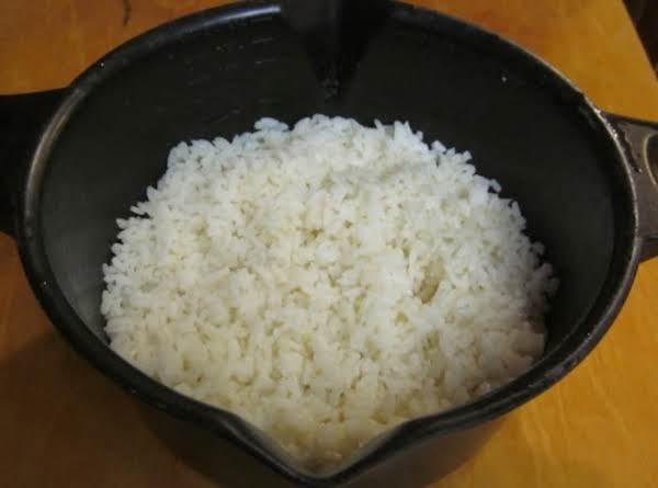 Microwave Rice Recipe