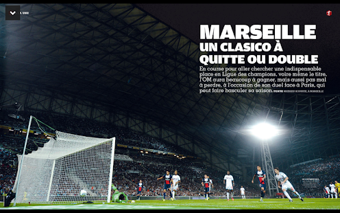 France Football le magazine Capture d'écran