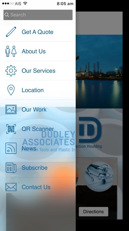 Dudley Associates- screenshot