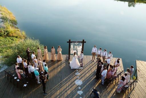 Летняя веранда в Престиж Холл для свадьбы