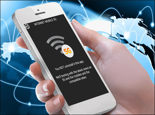 Internet mobile 5G free
