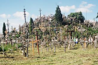 Photo: Siauliai Berg der Kreuze
