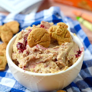 Peanut Butter and Jelly Swirl Dip
