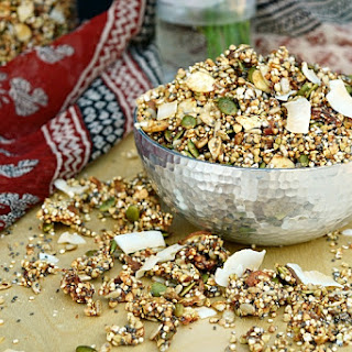 Power Protein Granola (Oil Free & Date Sweetened) Recipe