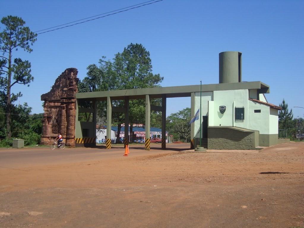 Entrada a San Ignacio