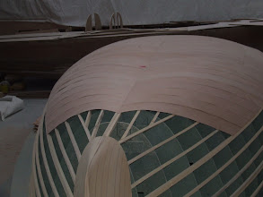 Photo: moule de coque - état au 25.11.2008