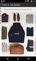 Screenshot of Frank & Oak - Premium Menswear