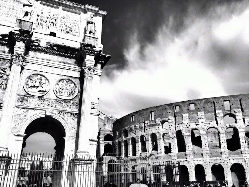 Nuvole su Roma di Jasmine82
