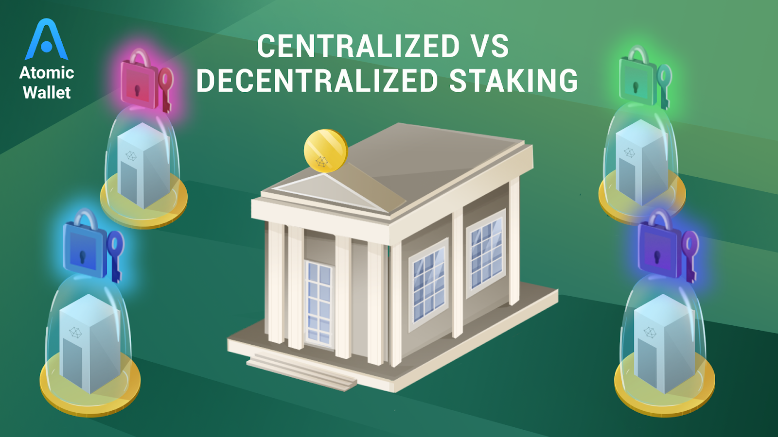 centralized vs decentralized staking