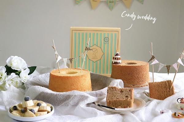 Candy Wedding:一年365天最特別的紀念日/戚風蛋糕/彌月推薦/派對蛋糕