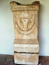 Photo: Apollonia Museum - Roman altar