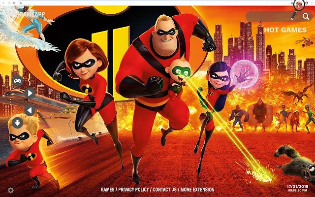 Incredibles 2 HD Wallpapers New Tab