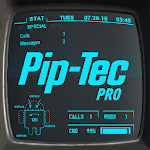 Pip-Tec Blue Icons & Live Wall Icon