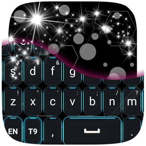个人化のネオングローGOキーボード LOGO-記事Game