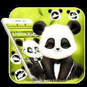 لطيف الباندا الخضراء الموضوع APK