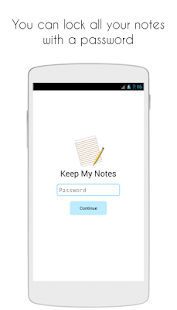 Keep My Notes - Notepad & Memo- screenshot thumbnail