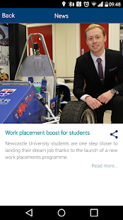 Newcastle University- screenshot thumbnail